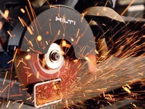 What is an angle grinder used for?