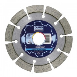 Duro DM 115mm Diamond Blade - 22.2mm Bore