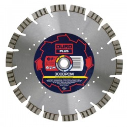 Duro Plus DPCM 230mm Diamond Blade - 22.2mm Bore