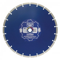 Duro Base DSBM 230mm Diamond Blade - 22.2mm Bore