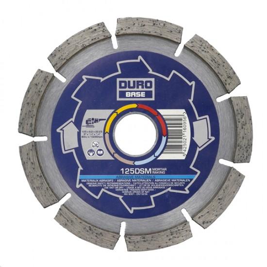Duro Base DSM 115mm Diamond Blade - 22.2mm Bore