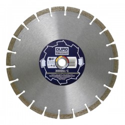 Duro Standard DU/C 180mm Diamond Blade - 22.2mm Bore