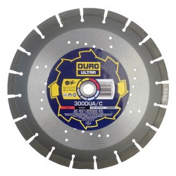 Duro Ultra DUA/C-Silent 300mm Diamond Blade - 20mm Bore