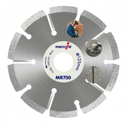 Marcrist MR750 125mm Diamond Blade - 22.2mm Bore