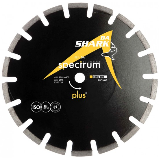 Spectrum DA 300mm Diamond Blade - 20mm Bore