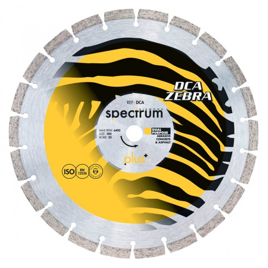 Spectrum DCA 230mm Diamond Blade - 22.2mm Bore