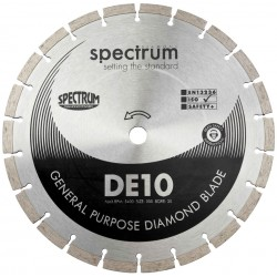 Spectrum DE10 105mm Diamond Blade - 16mm Bore