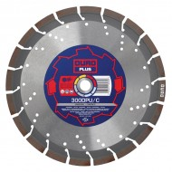Duro Plus DPU/C 350mm Diamond Blade - 25.4mm Bore