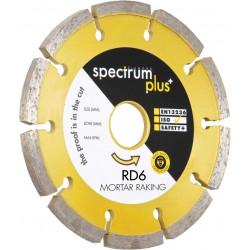 Spectrum RD6 115mm Diamond Blade - 22.2mm Bore