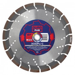 Duro Plus DPU/C 400mm Diamond Blade - 25.4mm Bore