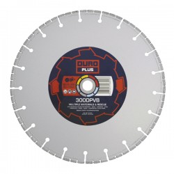 Duro Plus DPVB 400mm Diamond Blade - 25.4mm Bore