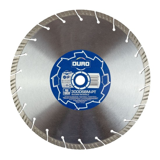 Duro BSBM-PT 230mm Diamond Blade - 22.2mm Bore
