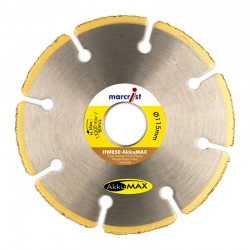 Marcrist HW850 AkkuMax 115mm Diamond Blade - 22.2mm Bore