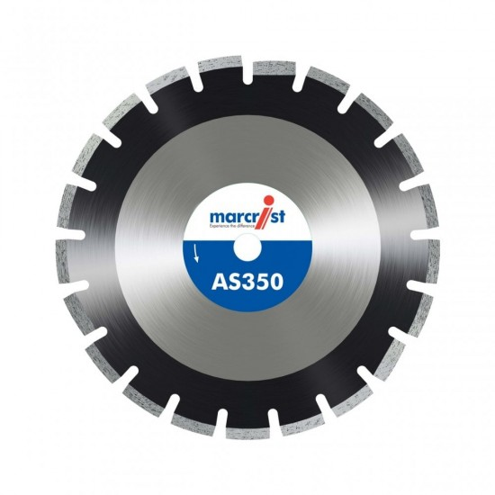 Marcrist AS350 350mm Diamond Blade - 20mm Bore