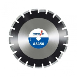 Marcrist AS350 450mm Diamond Blade - 25.4mm Bore