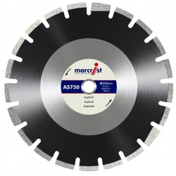 Marcrist AS750 450mm Diamond Blade - 25.4mm Bore
