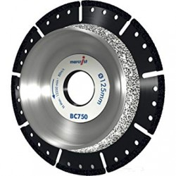 Marcrist BC750 125mm Diamond Blade - 22.2mm Bore
