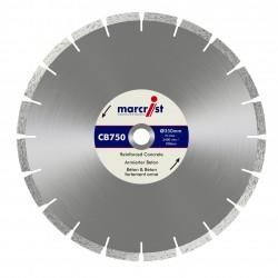 Marcrist CB750 400mm Diamond Blade - 25.4mm Bore
