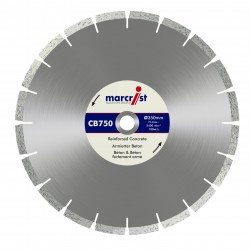 Marcrist CB750 450mm Diamond Blade - 25.4mm Bore
