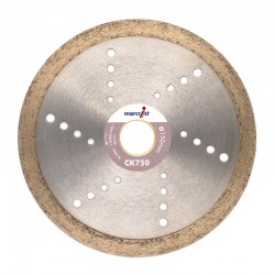 Marcrist CK750 250mm Diamond Blade - 25.4mm Bore