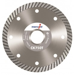 Marcrist CK750T 180mm Diamond Blade - 22.2mm Bore