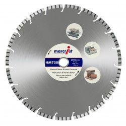 Marcrist HM750 250mm Diamond Blade - 25.4mm Bore