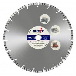 Marcrist HM750 450mm Diamond Blade - 25.4mm Bore