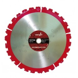 Marcrist VC750 350mm Rip Cut Diamond Blade - 25.4mm Bore