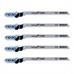 Bosch T101AO Jigsaw Blades Clean (Pack of 5)
