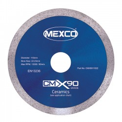 Mexco CMX90 200mm Diamond Blade - 25.4mm Bore