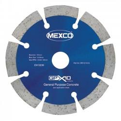Mexco GPX10 105mm Diamond Blade - 16mm Bore
