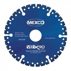 Mexco VBX90 350mm Diamond Blade - 25.4mm Bore
