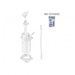 Mexco Water Container Service Kit - MEX3270/6002