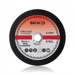 Mexco 230mm Abrasive Wheel Flat Cutting (Metal) - FMC6