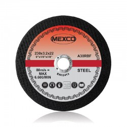Mexco 300mm Abrasive Wheel Flat Cutting (Metal) - FMC7