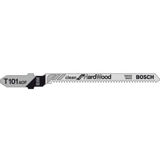 Bosch T101AOF Jigsaw Blades Clean (Pack of 5)