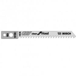 Bosch MA101BC Jigsaw Blades Clean Cut (Pack of 5)