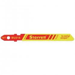 Starrett BU218 Jigsaw Blades (Pack of 5)