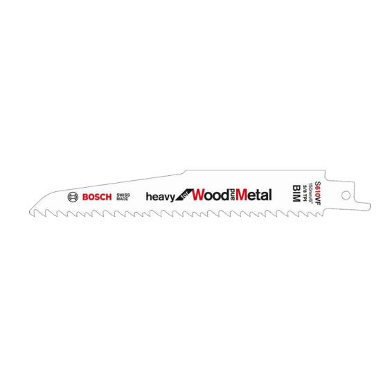 Bosch Sabre Saw Blade S610VF (Pack of 5)