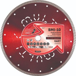 Dart Red Ten BMI-10 125mm Diamond Blade - 22mm Bore
