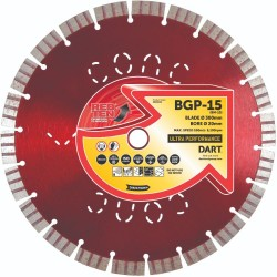 Dart Red Ten BGP-15 450mm Diamond Blade - 25mm Bore