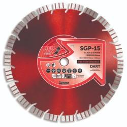 Dart Red Ten SGP-15 115mm Diamond Blade - 22mm Bore