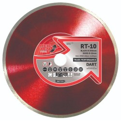 Dart Red Ten RT-10 180mm Diamond Blade - 22mm Bore