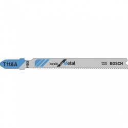 Bosch T118A Jigsaw Blades (Pack of 5)